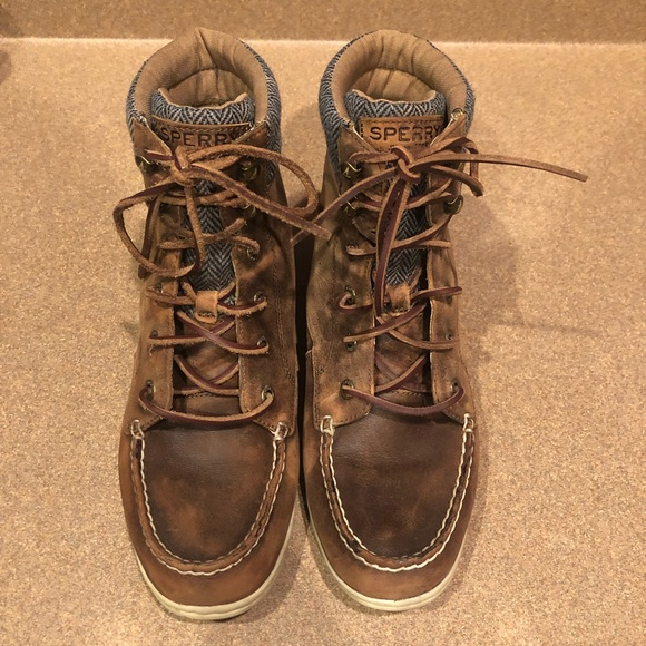 Sperry Shoes - Sperry Leather Bayfish Boot